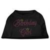 Mirage Pet Products Birthday Girl Rhinestone Shirt Black XXL (18)