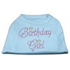 Mirage Pet Products Birthday Girl Rhinestone Shirt Baby Blue XS (8)