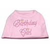 Mirage Pet Products Birthday Girl Rhinestone Shirt Light Pink L (14)