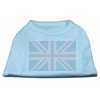 Mirage Pet Products British Flag Shirts Baby Blue XXXL(20)