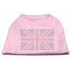 Mirage Pet Products British Flag Shirts Light Pink XXXL(20)