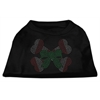 Mirage Pet Products Candy Cane Crossbones Rhinestone Shirt Black XL (16)