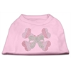 Mirage Pet Products Candy Cane Crossbones Rhinestone Shirt Light Pink M (12)