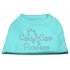 Mirage Pet Products Candy Cane Princess Shirt Aqua XL (16)