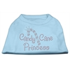 Mirage Pet Products Candy Cane Princess Shirt Baby Blue XXXL(20)