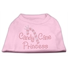 Mirage Pet Products Candy Cane Princess Shirt Light Pink XXXL(20)