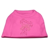 Mirage Pet Products Candy Cane Rhinestone Shirt Bright Pink XXL (18)