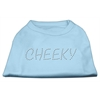 Mirage Pet Products Cheeky Rhinestone Shirt Baby Blue XXXL(20)