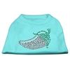 Mirage Pet Products Rhinestone Chili Pepper Shirts Aqua XXXL(20)