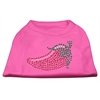 Mirage Pet Products Rhinestone Chili Pepper Shirts Bright Pink XXXL(20)