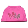Mirage Pet Products Christmas Bows Rhinestone Shirt Bright Pink XXXL(20)