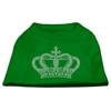 Mirage Pet Products Rhinestone Crown Shirts Emerald Green Lg (14)