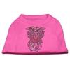 Mirage Pet Products Eagle Rose Nailhead Shirts Bright Pink XXL (18)