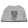 Mirage Pet Products Eagle Rose Nailhead Shirts Grey XS (8)
