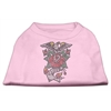 Mirage Pet Products Eagle Rose Nailhead Shirts Light Pink M (12)