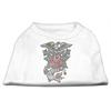 Mirage Pet Products Eagle Rose Nailhead Shirts White XS (8)