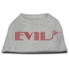 Mirage Pet Products Evil Rhinestone Shirts Grey XXL (18)