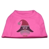 Mirage Pet Products Santa Penguin Rhinestone Dog Shirt Bright Pink Lg (14)