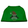 Mirage Pet Products Santa Penguin Rhinestone Dog Shirt Green Med (12)