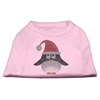 Mirage Pet Products Santa Penguin Rhinestone Dog Shirt Light Pink XXL (18)