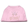 Mirage Pet Products Got Booty? Rhinestone Shirts Light Pink XXL (18)