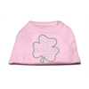 Mirage Pet Products Happy St. Patrick's Day Rhinestone Shirts Light Pink XS (8)