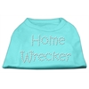 Mirage Pet Products Home Wrecker Rhinestone Shirts Aqua XS (8)