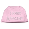 Mirage Pet Products Home Wrecker Rhinestone Shirts Light Pink XXXL(20)