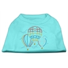 Mirage Pet Products Hot Air Balloon Rhinestone Shirts Aqua XXL (18)