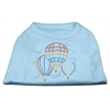 Mirage Pet Products Hot Air Balloon Rhinestone Shirts Baby Blue XXXL (20)