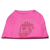 Mirage Pet Products I'm Too Sexy Rhinestone Shirts Bright Pink XL (16)