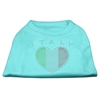 Mirage Pet Products Italy Rhinestone Shirts Aqua XXL (18)