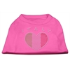Mirage Pet Products Italy Rhinestone Shirts Bright Pink XXXL(20)