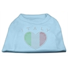 Mirage Pet Products Italy Rhinestone Shirts Baby Blue XXXL(20)