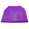 Mirage Pet Products Italy Rhinestone Shirts Purple XS (8)