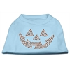 Mirage Pet Products Jack O' Lantern Rhinestone Shirts Baby Blue XXL (18)
