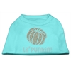 Mirage Pet Products Lil' Punkin' Rhinestone Shirts Aqua XXL (18)