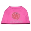 Mirage Pet Products Lil' Punkin' Rhinestone Shirts Bright Pink XXL (18)