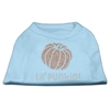 Mirage Pet Products Lil' Punkin' Rhinestone Shirts Baby Blue XXXL(20)
