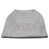 Mirage Pet Products Minx Rhinestone Shirts Grey XXXL(20)