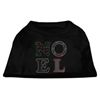 Mirage Pet Products Noel Rhinestone Dog Shirt Black  XS (8)
