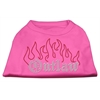 Mirage Pet Products Outlaw Rhinestone Shirts Bright Pink XXXL(20)