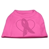 Mirage Pet Products Pink Ribbon Rhinestone Shirts Bright Pink XXXL (20)
