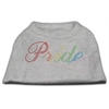 Mirage Pet Products Rainbow Pride Rhinestone Shirts Grey XL (16)