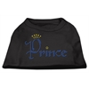 Mirage Pet Products Prince Rhinestone Shirts Black XS (8)