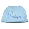 Mirage Pet Products Prince Rhinestone Shirts Baby Blue XXL (18)