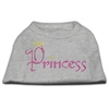 Mirage Pet Products Princess Rhinestone Shirts Grey XXXL(20)