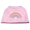 Mirage Pet Products Rhinestone Rainbow Shirts Light Pink XL (16