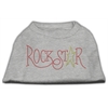 Mirage Pet Products RockStar Rhinestone Shirts Grey L (14)
