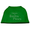 Mirage Pet Products I Believe in Santa Paws Shirt Emerald Green Sm (10)
